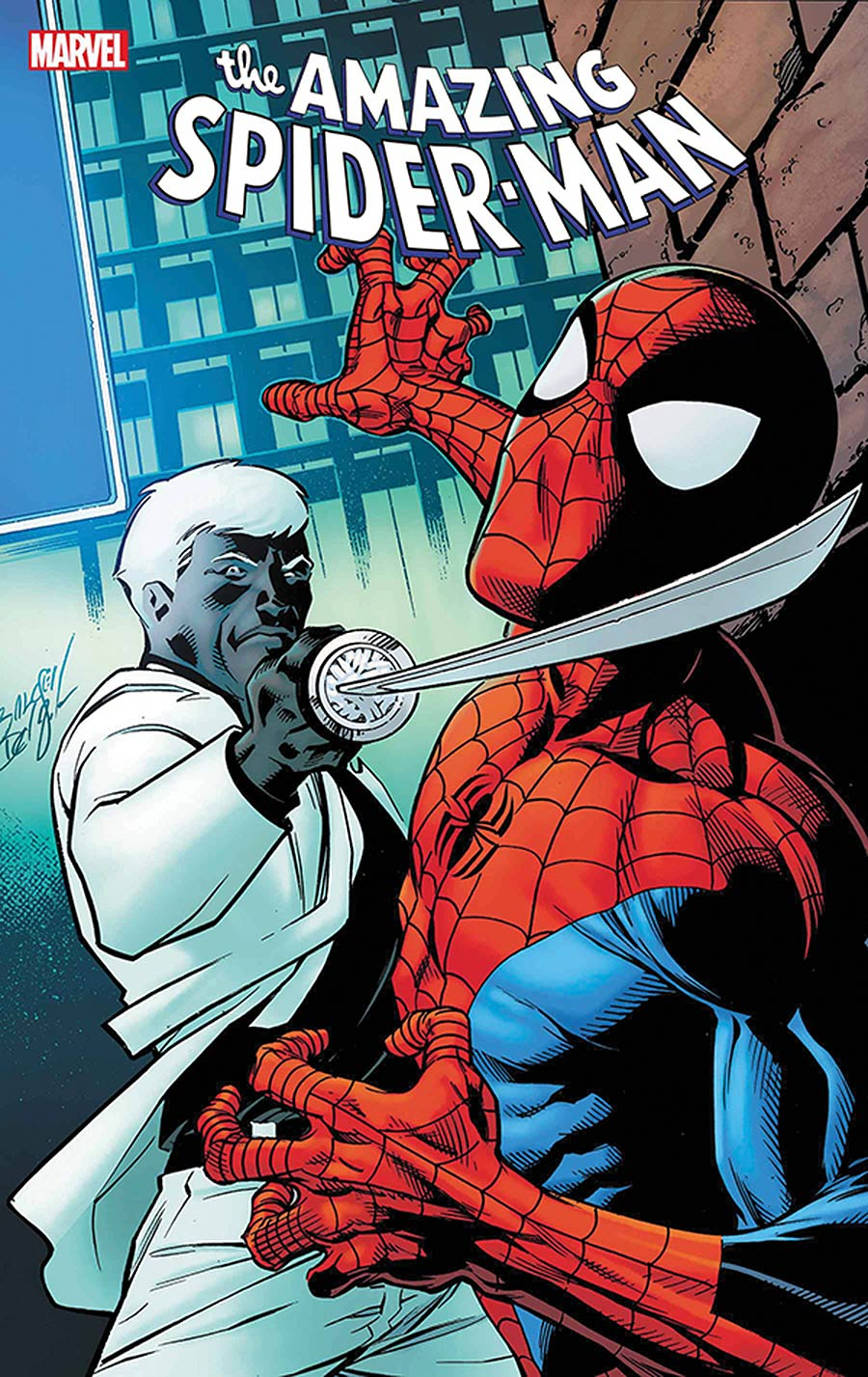 Amazing Spider-Man Vol 5 #59 Cover E DF Signed By Nick Spencer