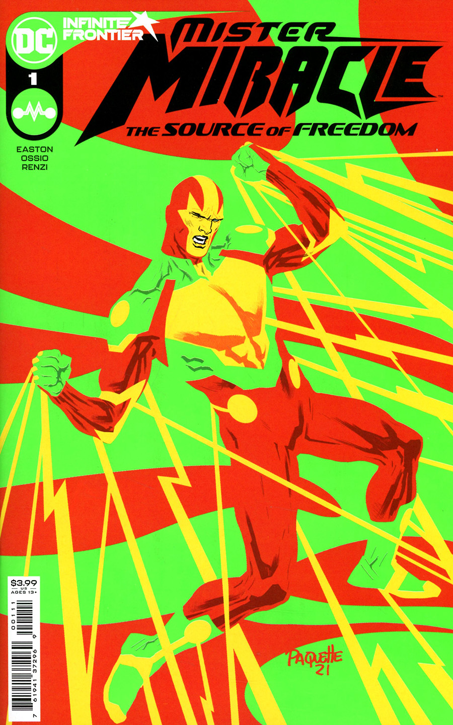 Mister Miracle The Source Of Freedom #1 Cover A Regular Yanick Paquette Cover