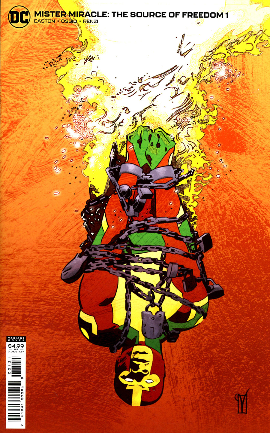 Mister Miracle The Source Of Freedom #1 Cover B Variant Valentine De Landro Card Stock Cover