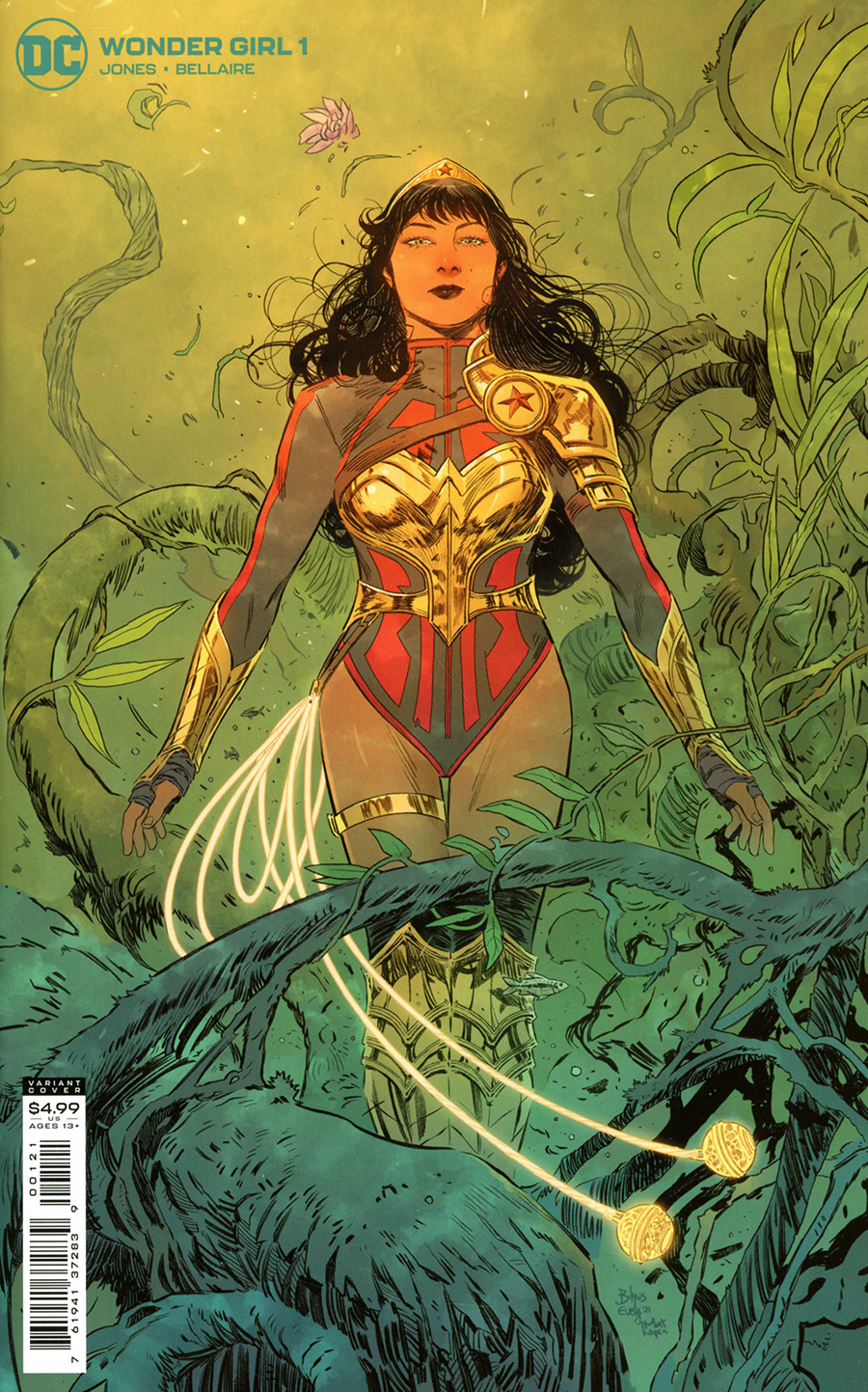 Wonder Girl Vol 2 #1 Cover B Variant Bilquis Evely Card Stock Cover