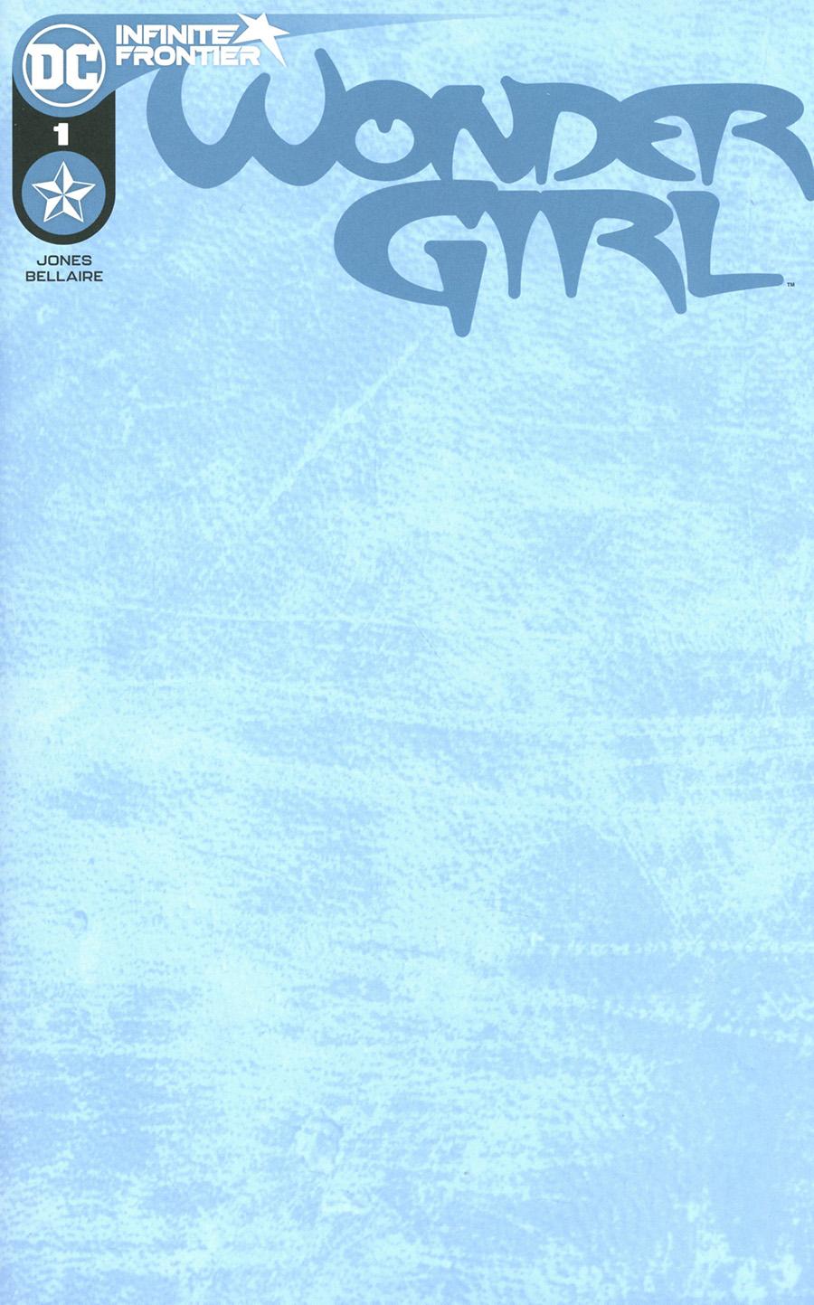 Wonder Girl Vol 2 #1 Cover C Variant Blank Card Stock Cover
