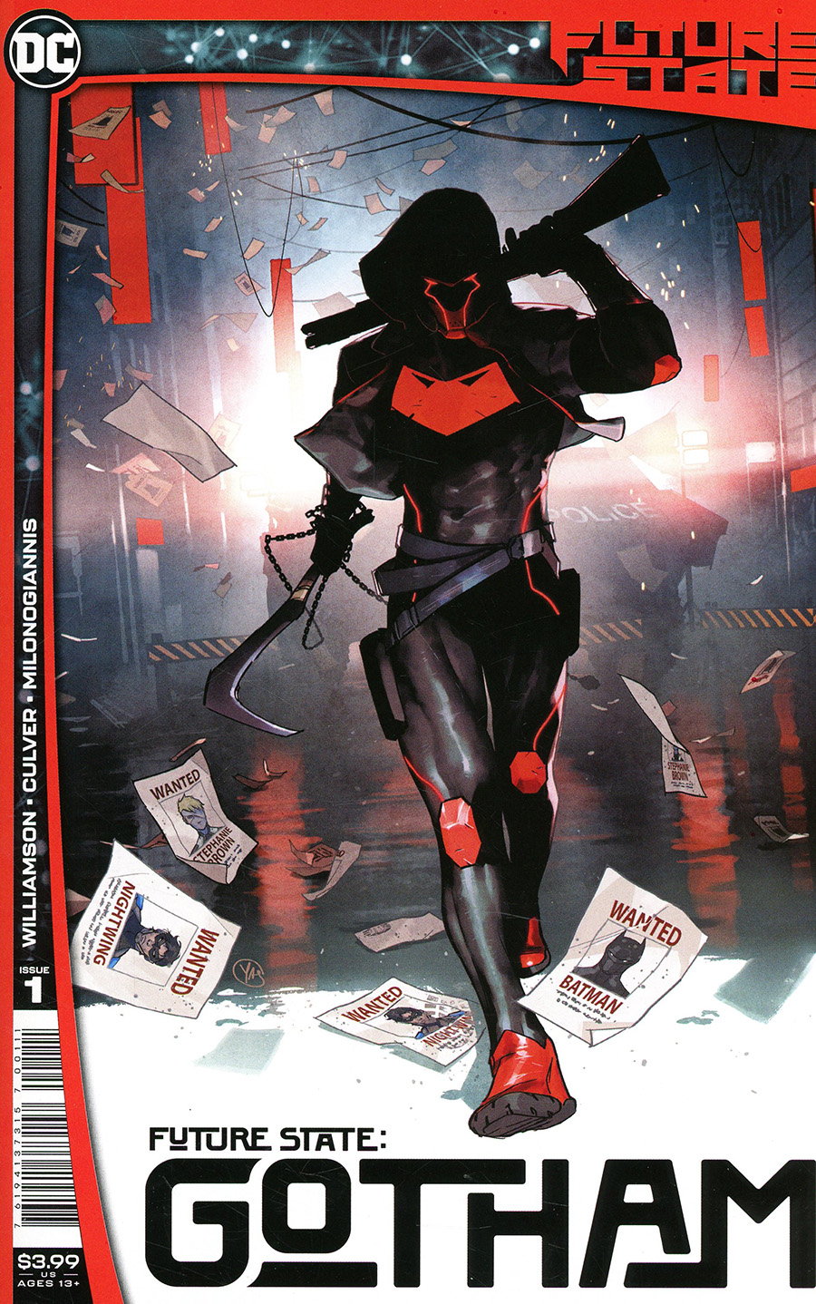 Future State Gotham #1 Cover A Regular Yasmine Putri Cover