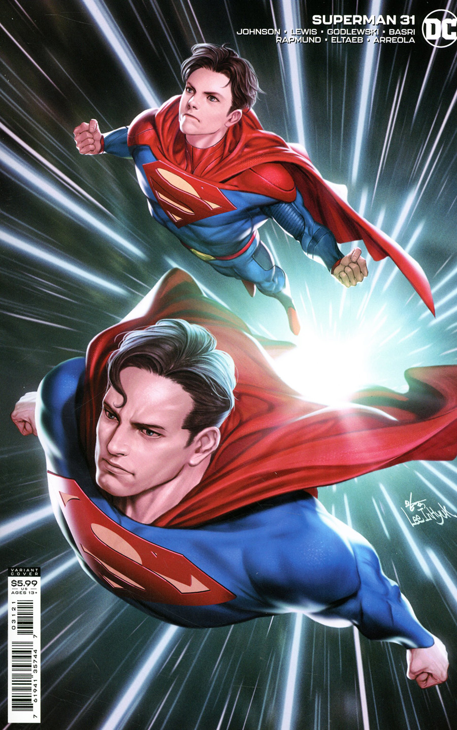 Superman Vol 6 #31 Cover B Variant Inhyuk Lee Card Stock Cover