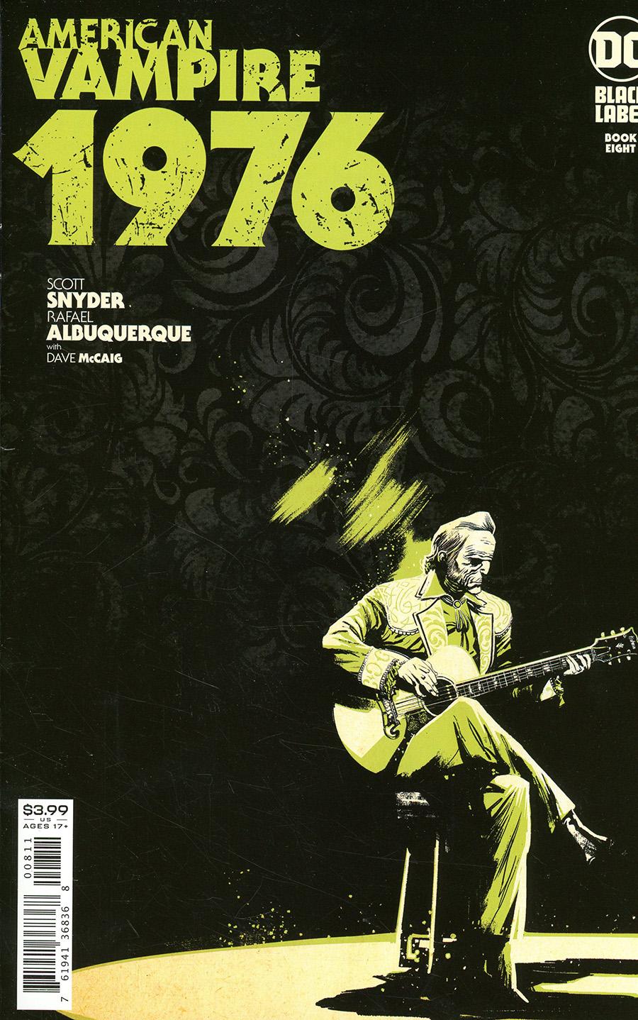 American Vampire 1976 #8 Cover A Regular Rafael Albuquerque Cover