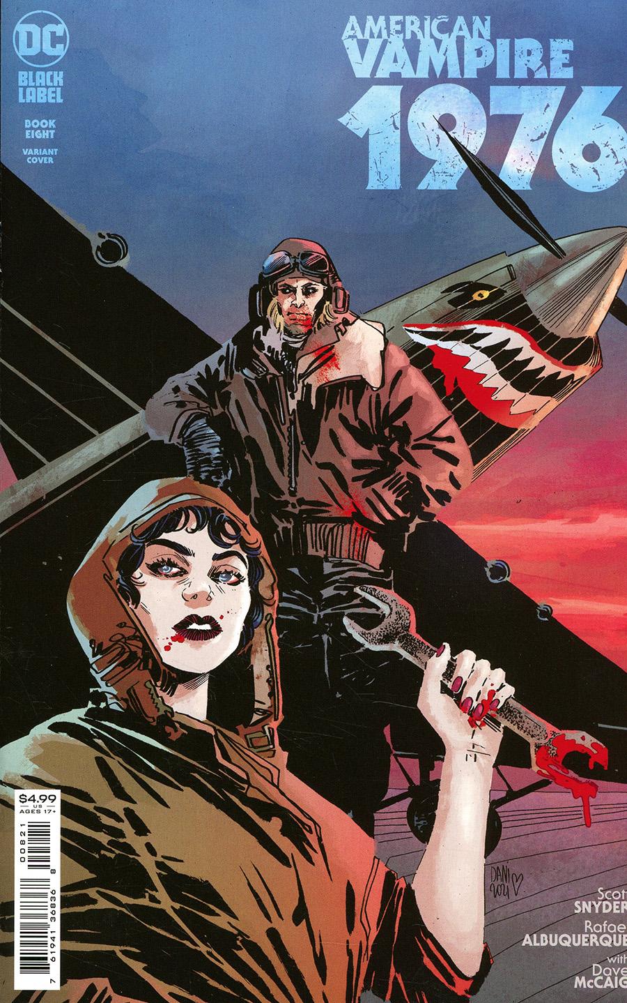 American Vampire 1976 #8 Cover B Variant Dani Card Stock Cover