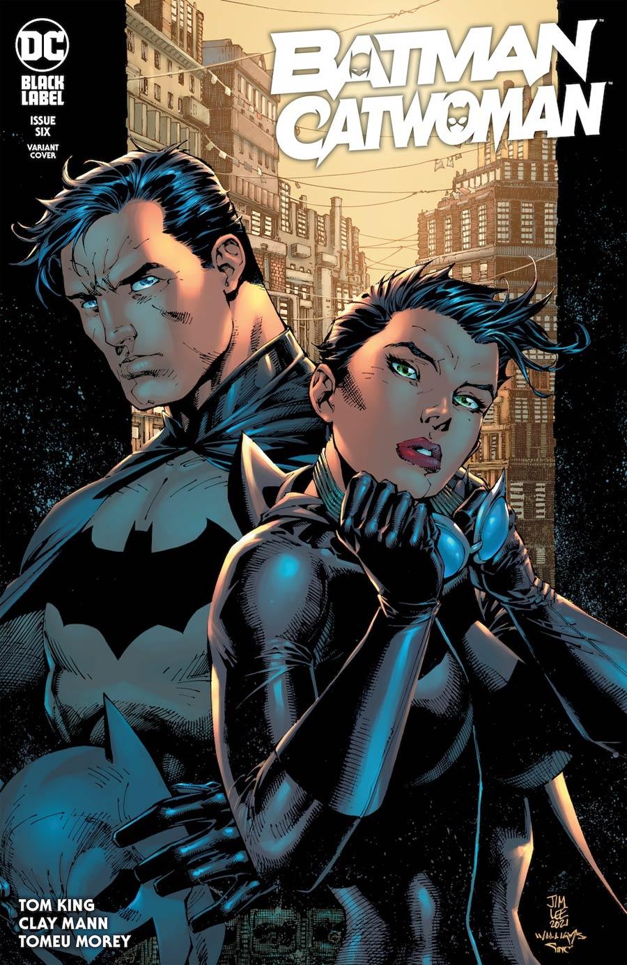 Batman Catwoman #6 Cover B Variant Jim Lee & Scott Williams Cover