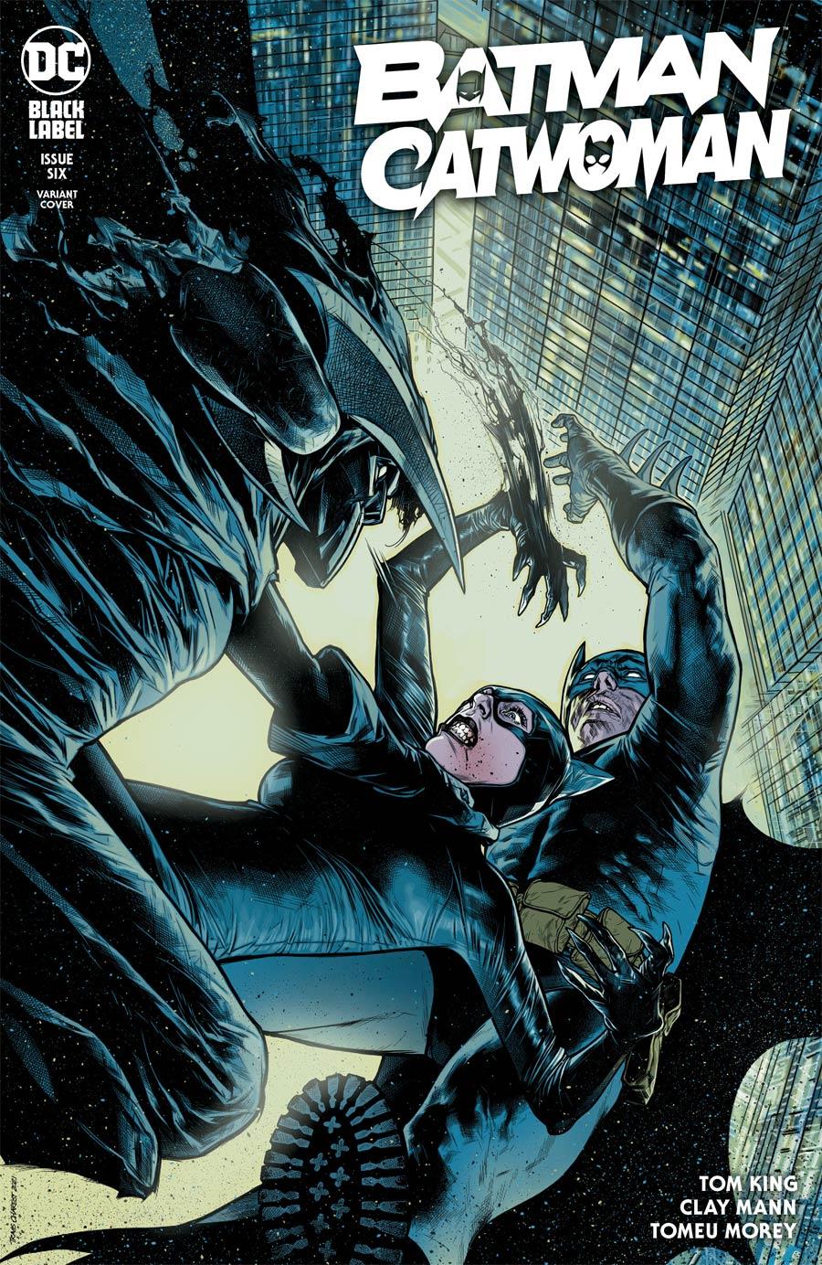 Batman Catwoman #6 Cover C Variant Travis Charest Cover