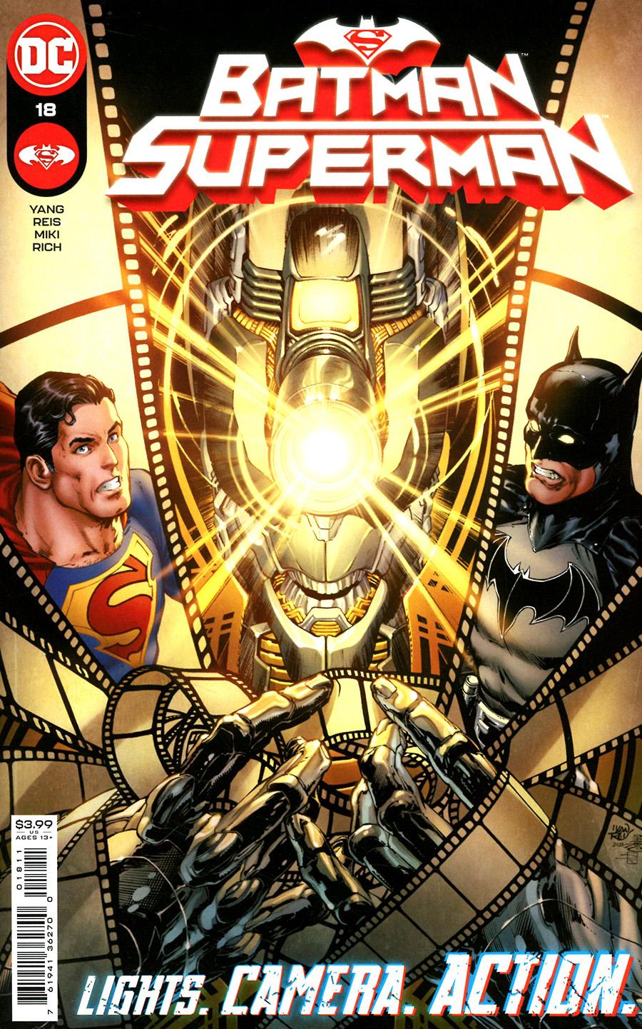Batman Superman Vol 2 #18 Cover A Regular Ivan Reis Cover
