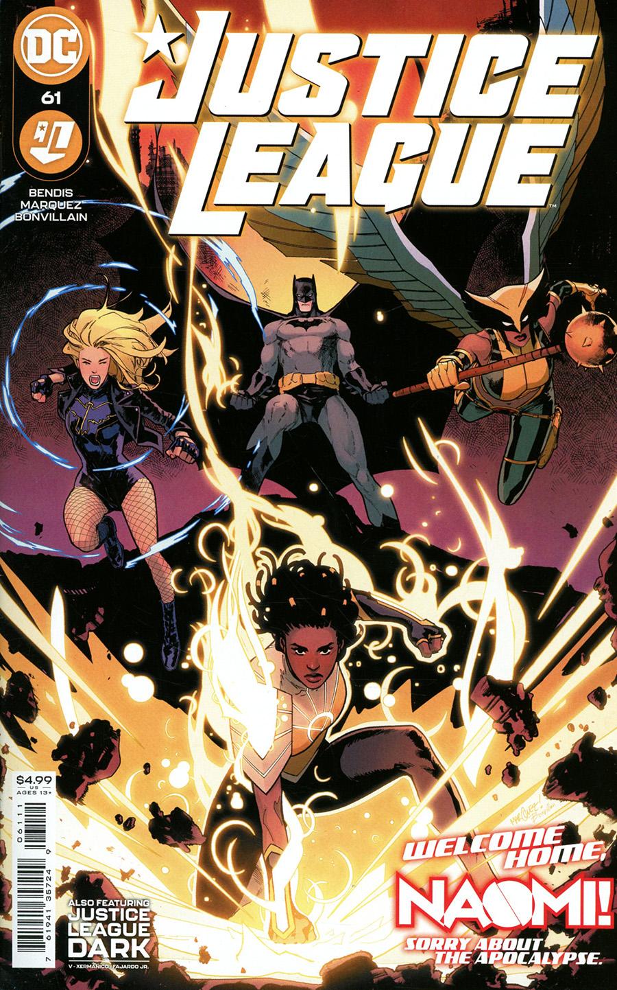 Justice League Vol 4 #61 Cover A Regular David Marquez Cover