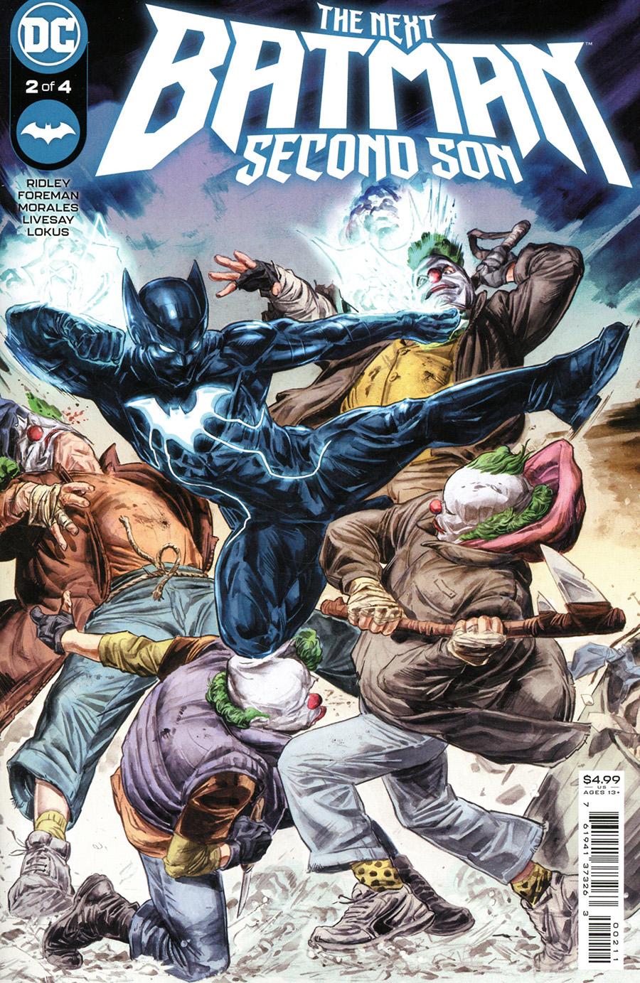 Next Batman Second Son #2 Cover A Regular Doug Braithwaite Cover