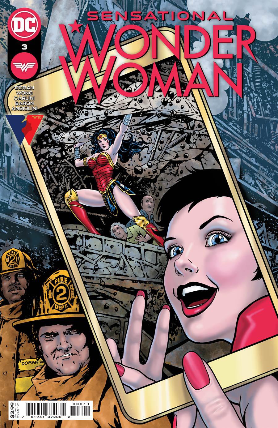 Sensational Wonder Woman #3 Cover A Regular Colleen Doran Cover