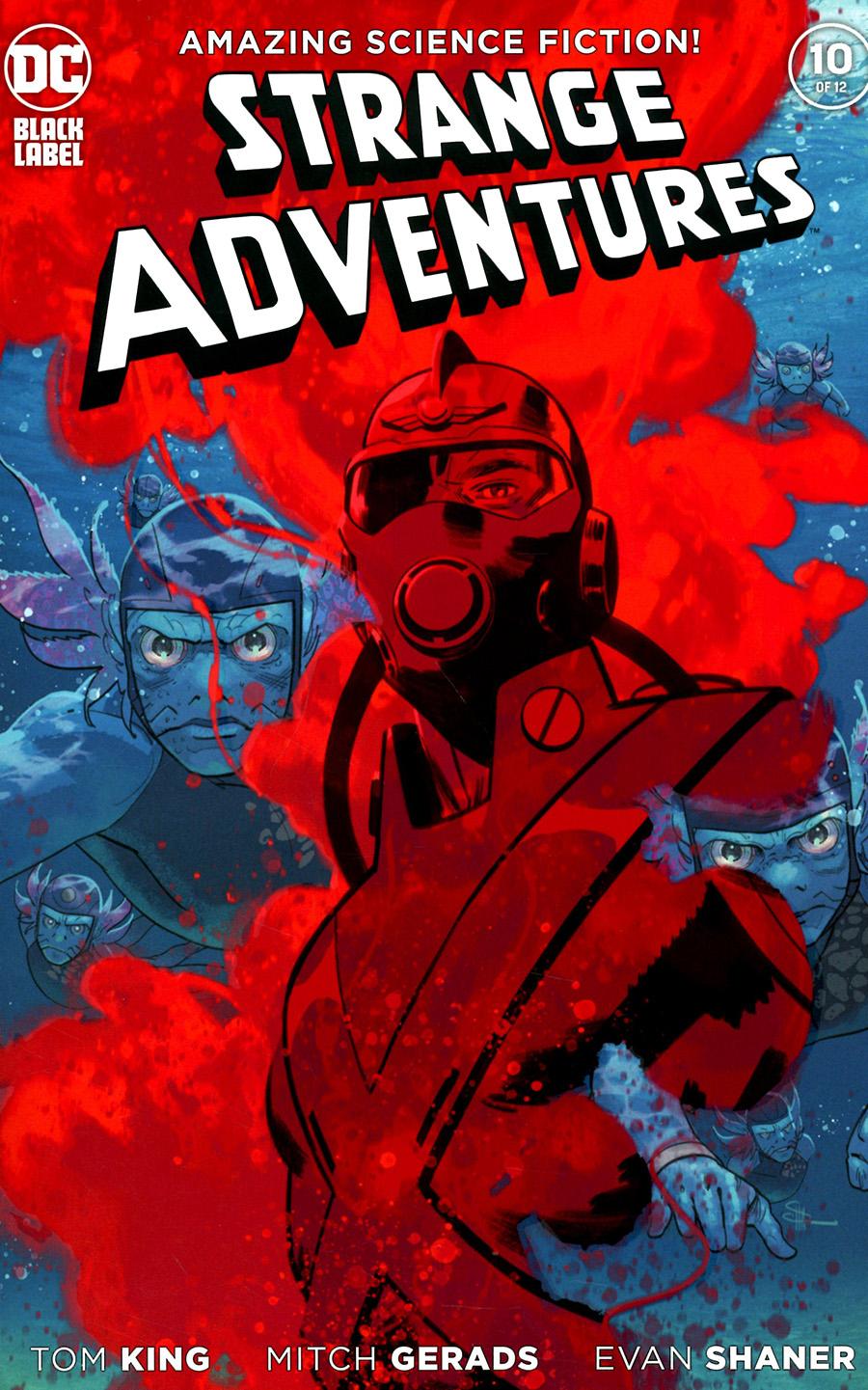 Strange Adventures Vol 4 #10 Cover B Variant Evan Doc Shaner Cover