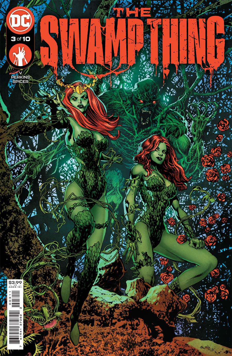 Swamp Thing Vol 7 #3 Cover A Regular Mike Perkins Cover