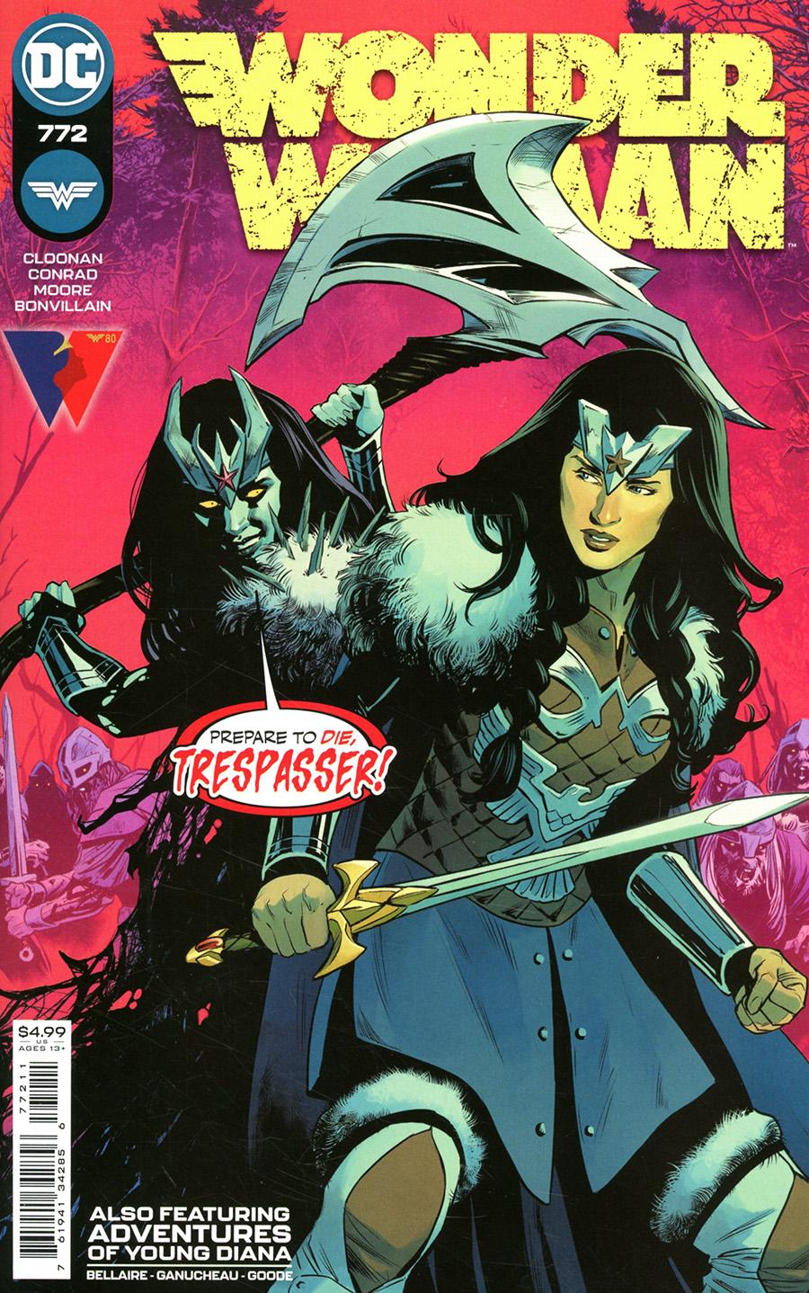 Wonder Woman Vol 5 #772 Cover A Regular Travis Moore Cover
