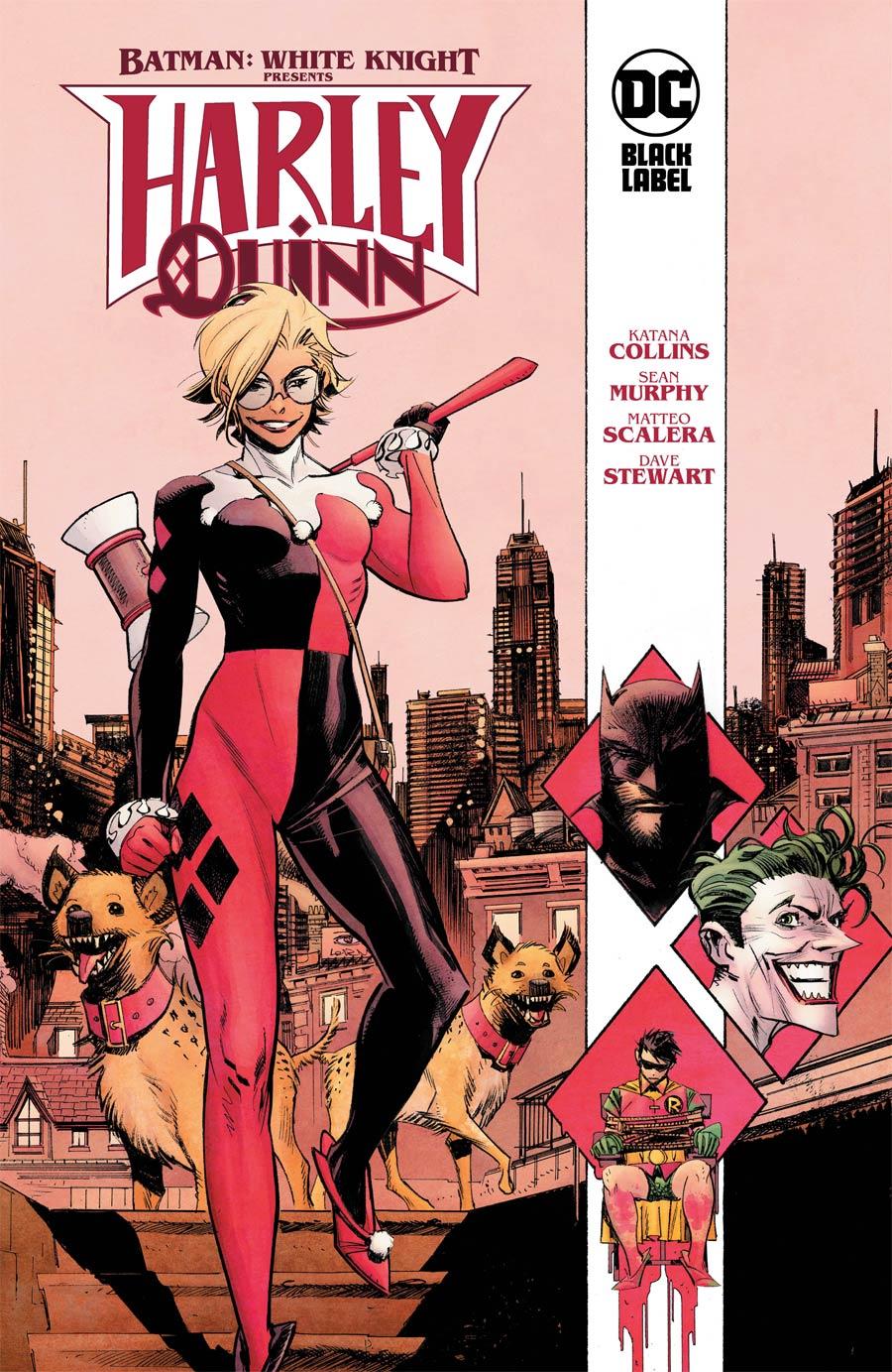 Batman White Knight Presents Harley Quinn HC