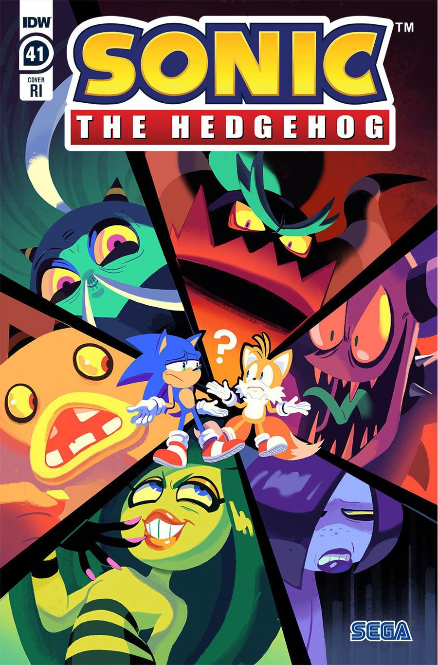 Sonic The Hedgehog Vol 3 #41 Cover C Incentive Nathalie Fourdraine Variant Cover
