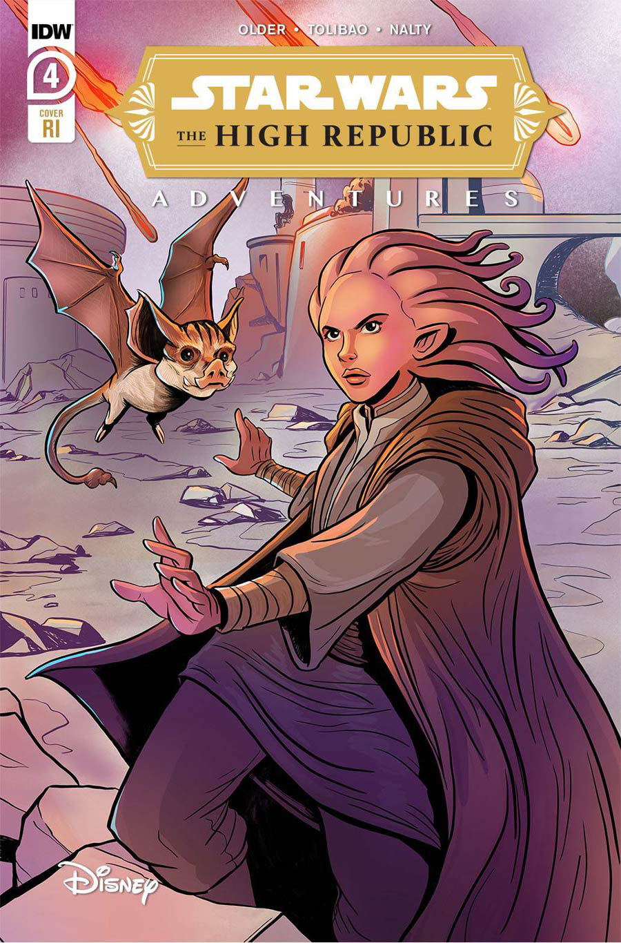 Star Wars High Republic Adventures #4 Cover B Incentive Yael Nathan Variant Cover