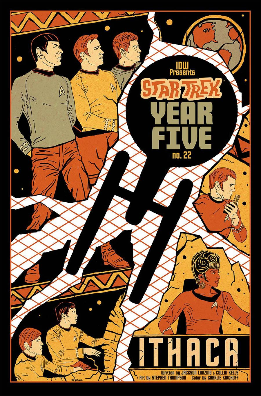 Star Trek Year Five #22 Cover B Incentive JJ Lendl Variant Cover