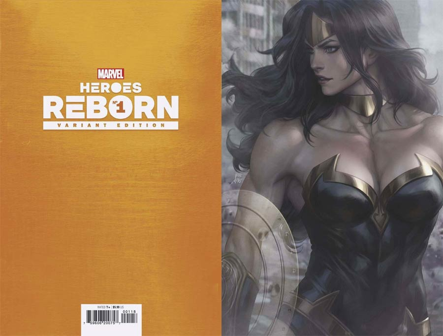 Heroes Reborn #1 Cover L Incentive Stanley Artgerm Lau Virgin Cover
