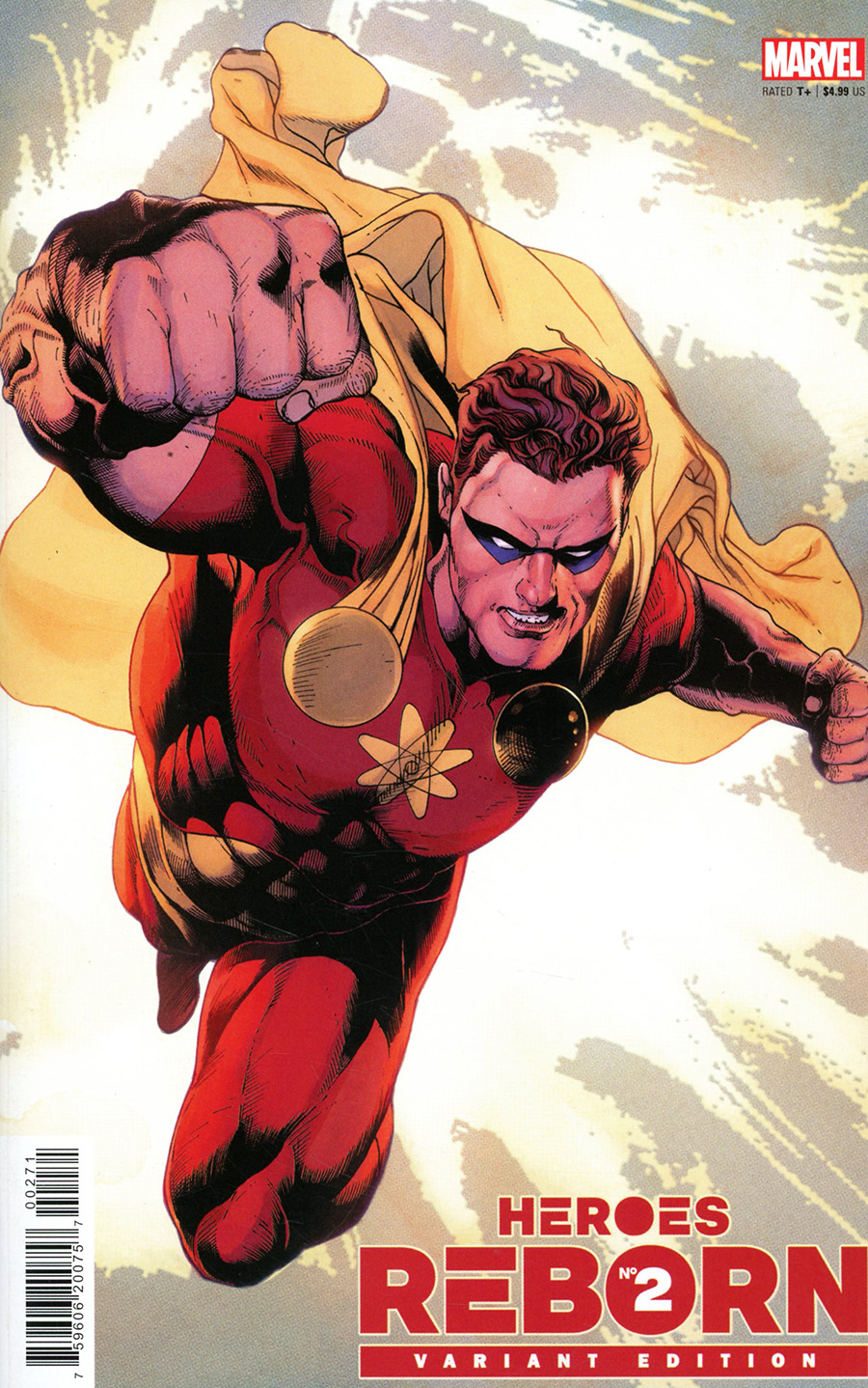 Heroes Reborn #2 Cover E Incentive Carlos Magno Variant Cover