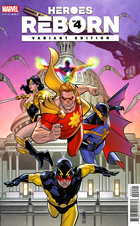 Heroes Reborn #4 Cover E Incentive Paco Medina Squadron Supreme Variant Cover