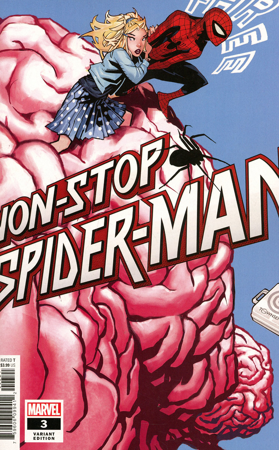 Non-Stop Spider-Man #3 Cover B Incentive Chris Bachalo Variant Cover
