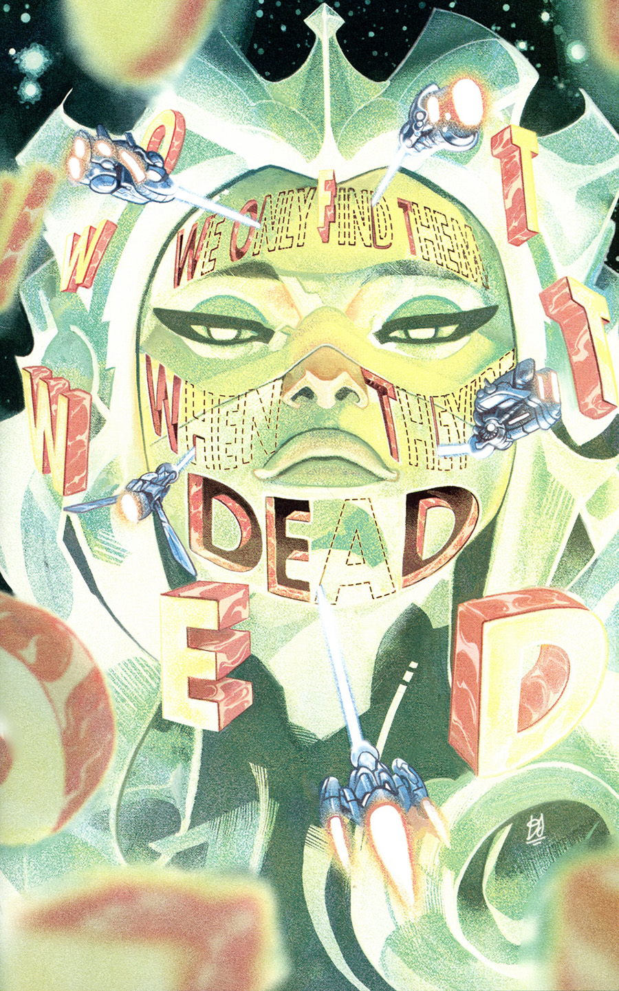 We Only Find Them When Theyre Dead #6 Cover D Incentive Mike Del Mundo Virgin Variant Cover