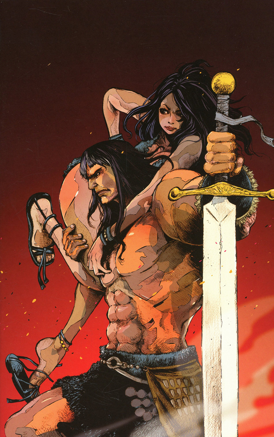 Cimmerian Iron Shadows In The Moon #2 Cover F Incentive JBStyle Virgin Cover
