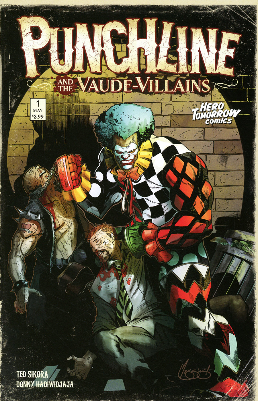 Punchline And The Vaude-Villains #1 Cover C Incentive Eder Messias Variant Cover