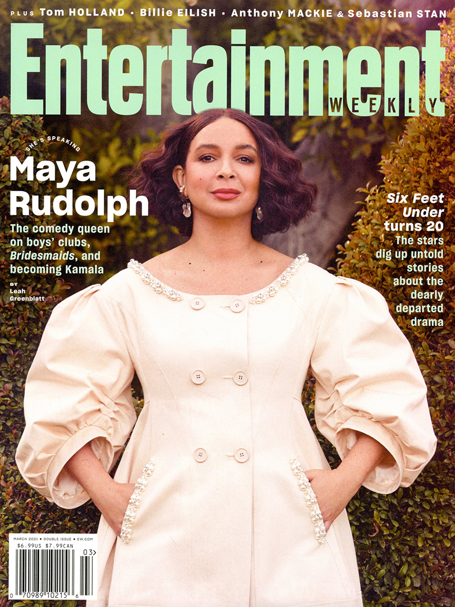 Entertainment Weekly #1606 / #1607 March 2021 (Covers Filled Randomly)
