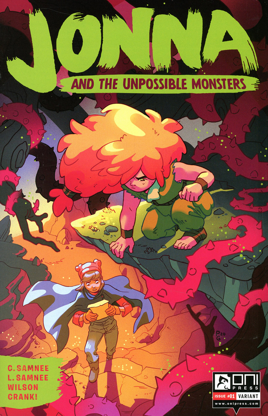 Jonna And The Unpossible Monsters #1 Cover C Incentive Paulina Ganucheau Variant Cover