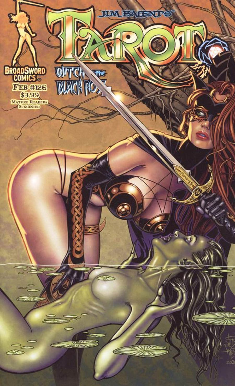 Tarot Witch Of The Black Rose #126 Cover A Regular Jim Balent Pond Cover