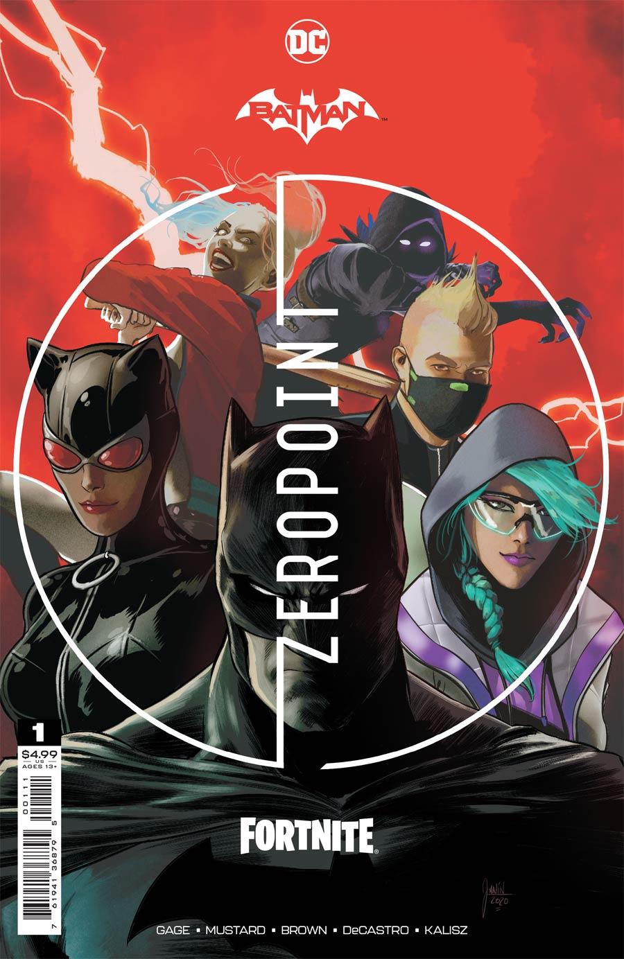 Batman Fortnite Zero Point #1 Cover A Regular Mikel Janin Cover (Limit 1 Per Customer)