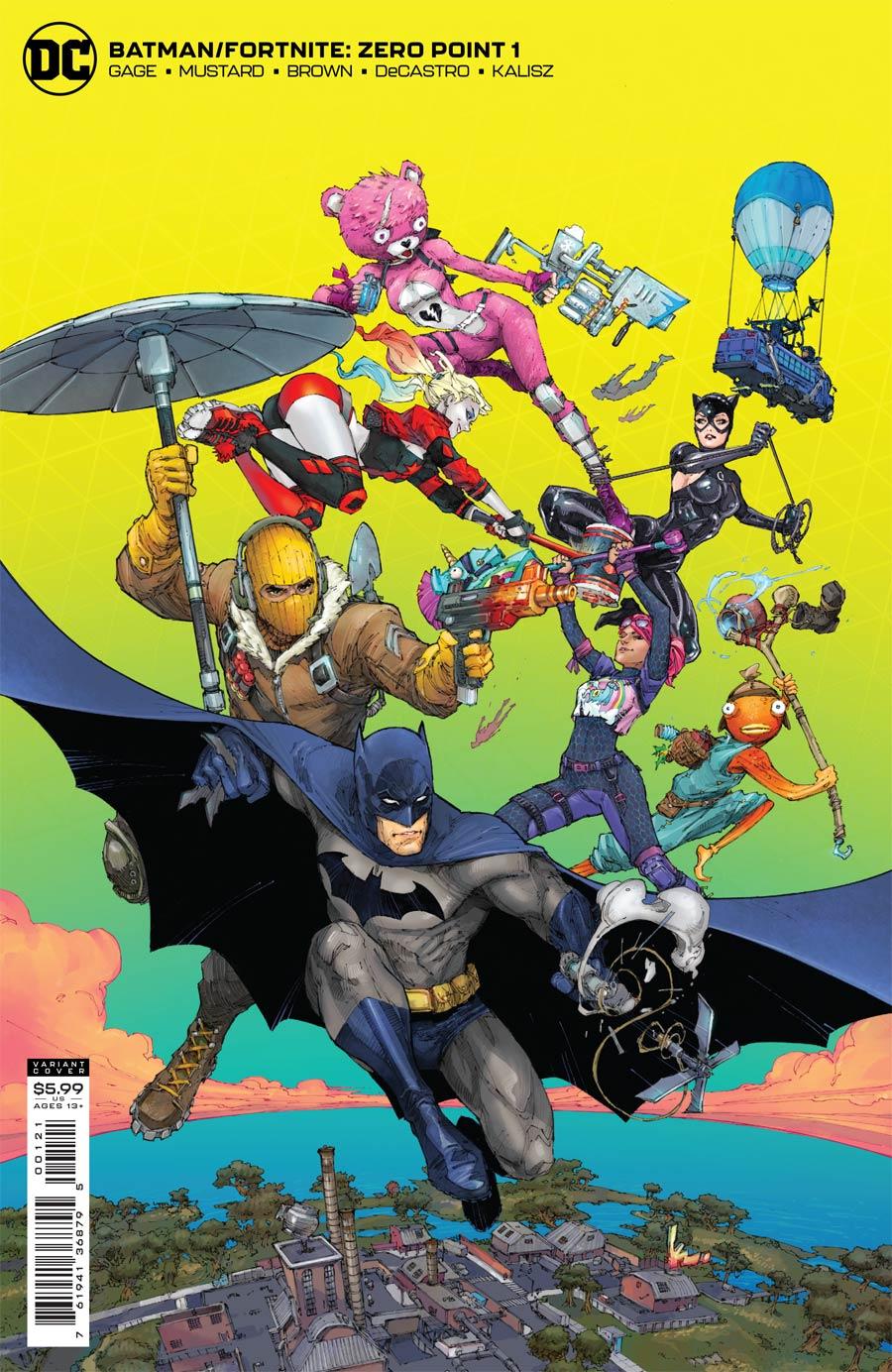 Batman Fortnite Zero Point #1 Cover B Variant Kenneth Rocafort Card Stock Cover (Limit 1 Per Customer)