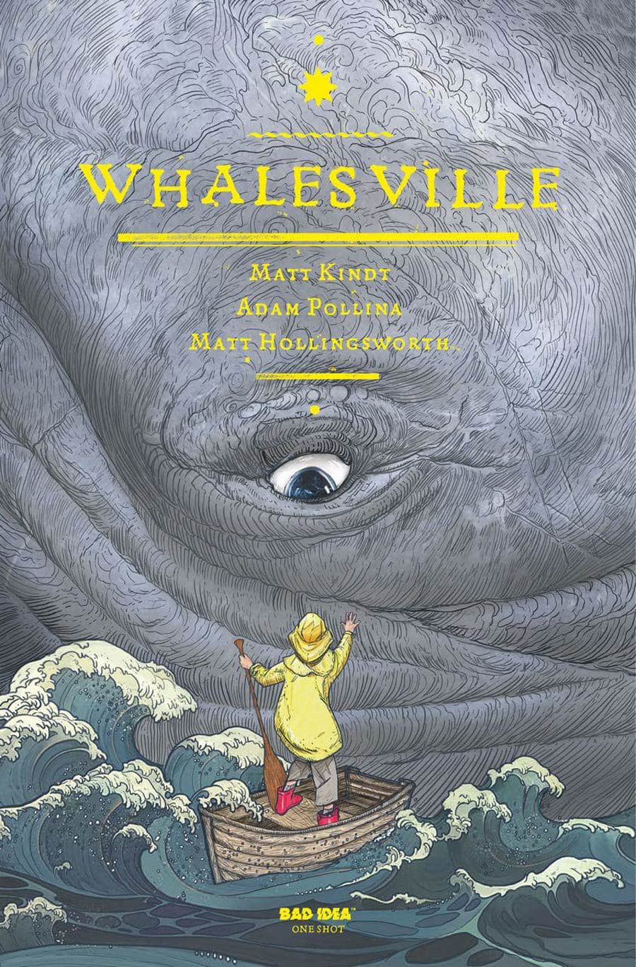 Whalesville x Rocks and Minerals #1 (One Shot) Cover A First Printing (Yellow Logo)(Limit 1 Per Customer)