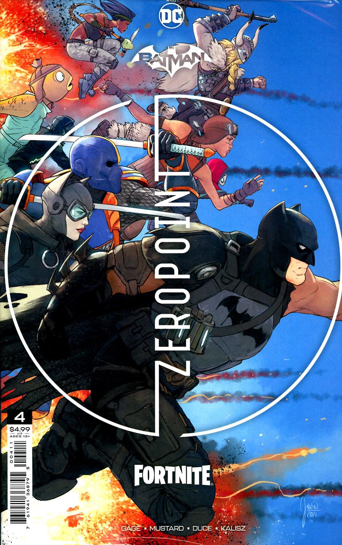 Batman Fortnite Zero Point #4 Cover A Regular Mikel Janin Cover