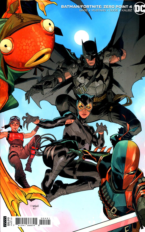 Batman Fortnite Zero Point #4 Cover B Variant Dan Mora Card Stock Cover