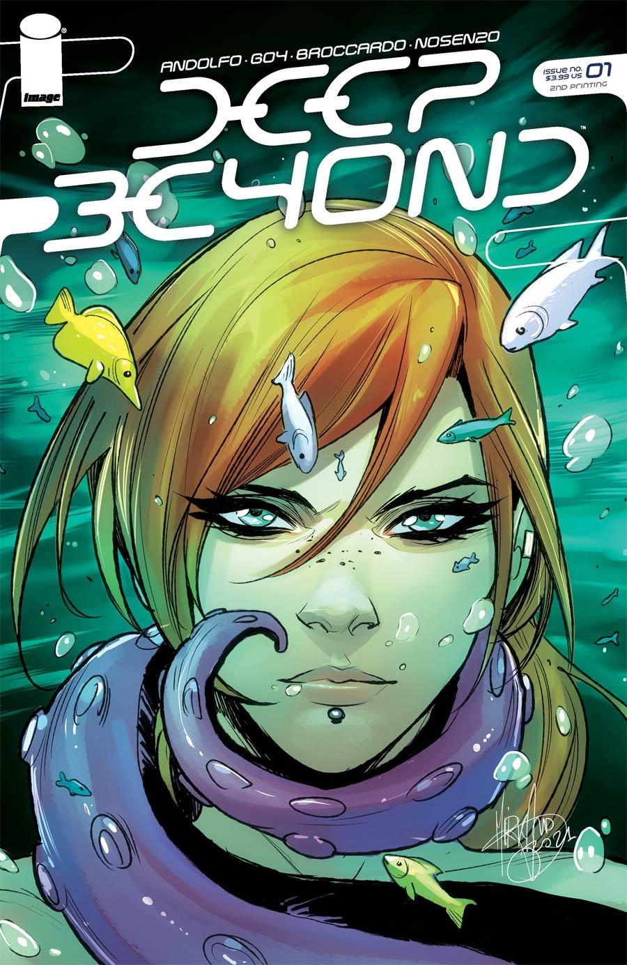 Deep Beyond #1 Cover H 2nd Ptg
