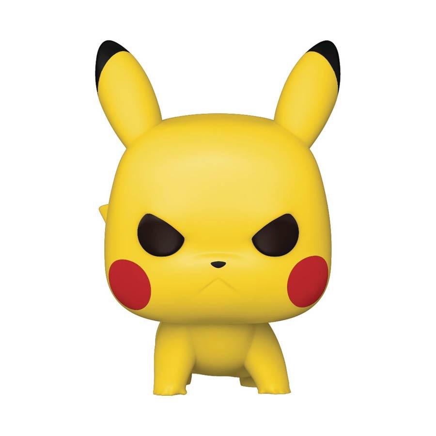 POP Games Pokemon Pikachu Attack Stance Vinyl Figure