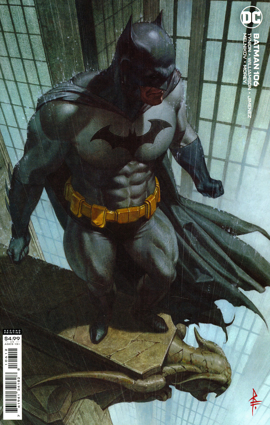 Batman Vol 3 #106 Cover G 2nd Ptg Riccardo Federici Variant Cover