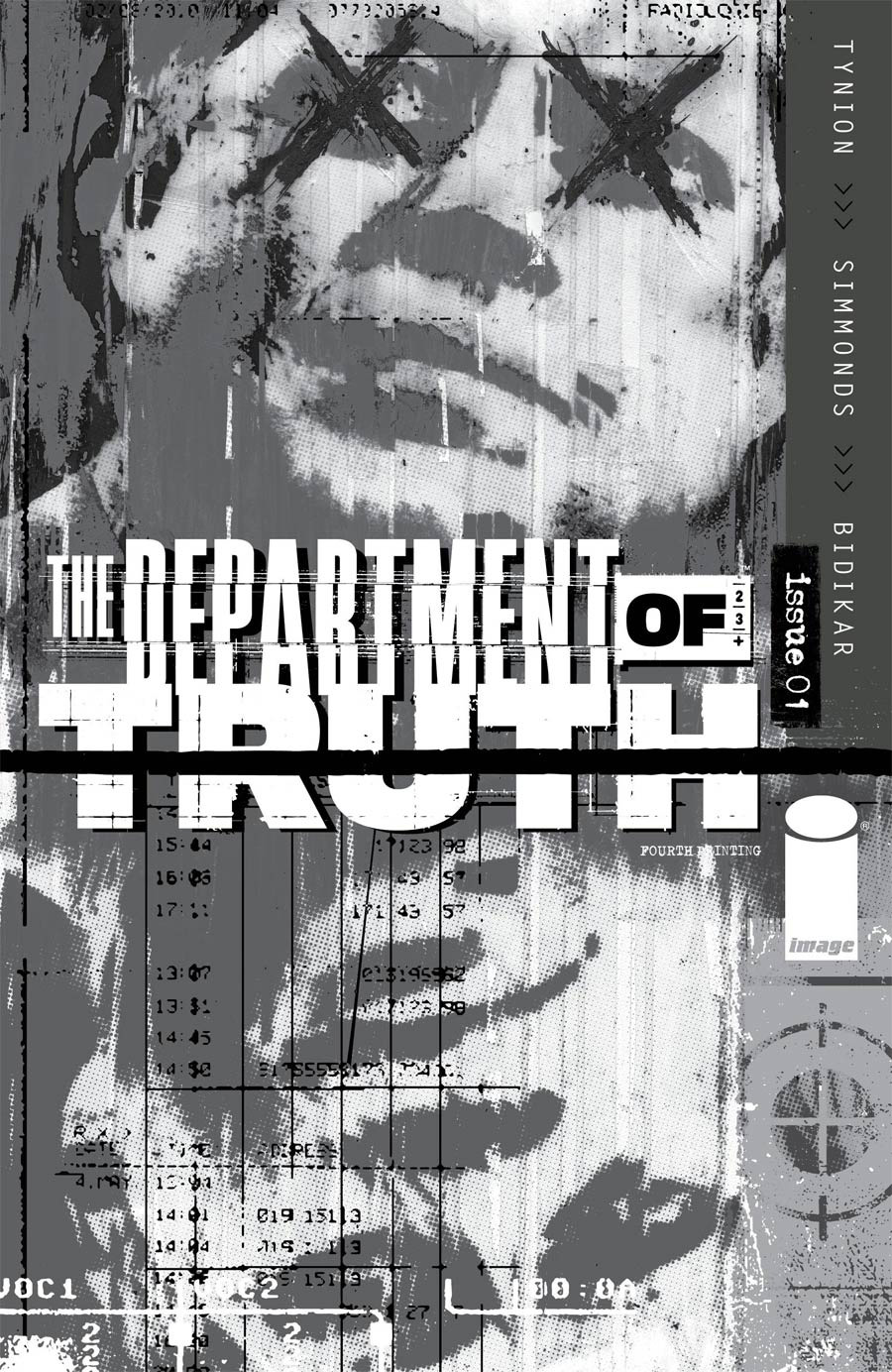Department Of Truth #1 Cover L 4th Ptg