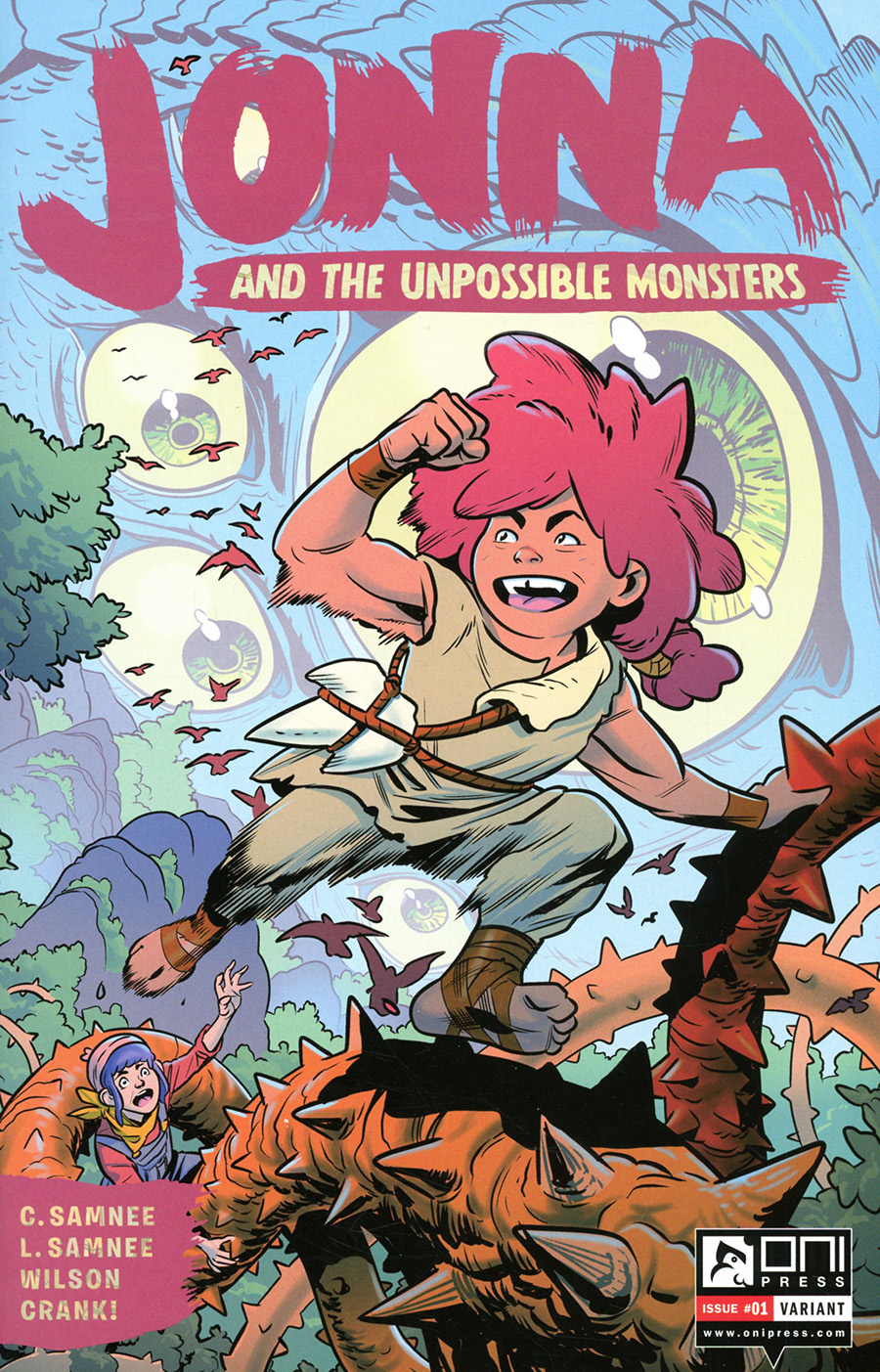 Jonna And The Unpossible Monsters #1 Cover F Incentive Promo Variant Cover