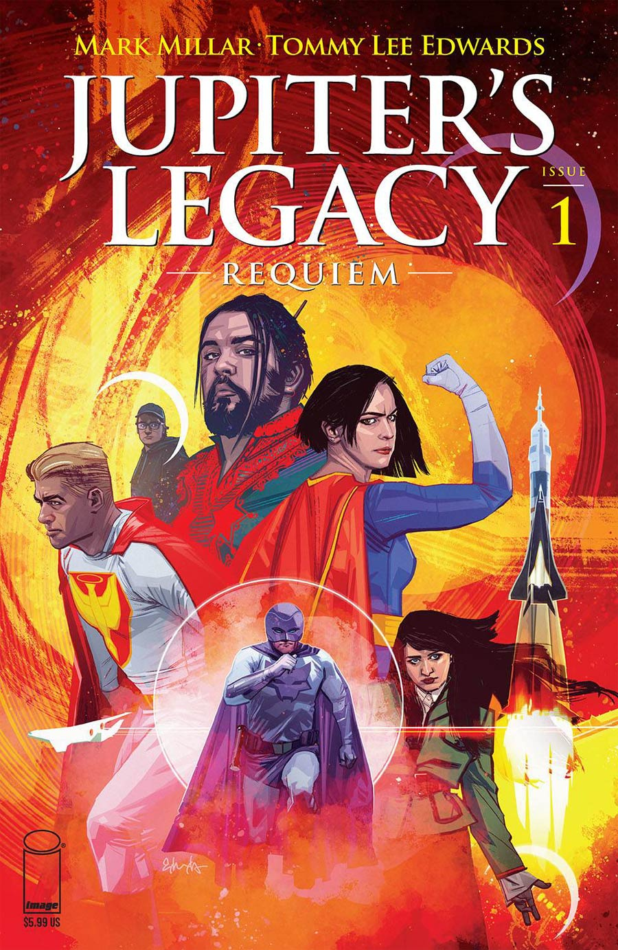 Jupiters Legacy Requiem #1 Cover A Regular Tommy Lee Edwards Cover