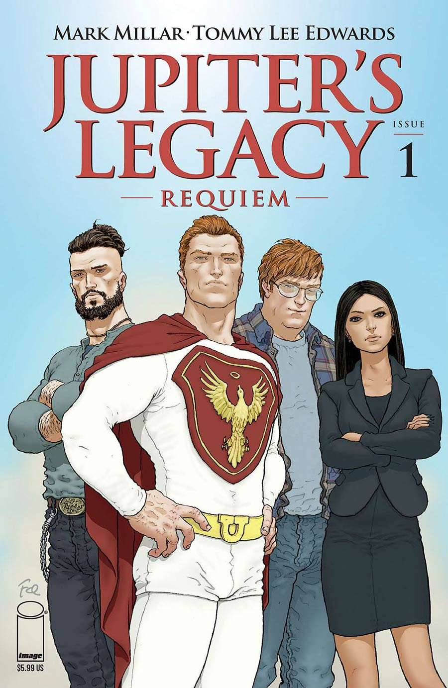 Jupiters Legacy Requiem #1 Cover B Variant Frank Quitely Color Cover