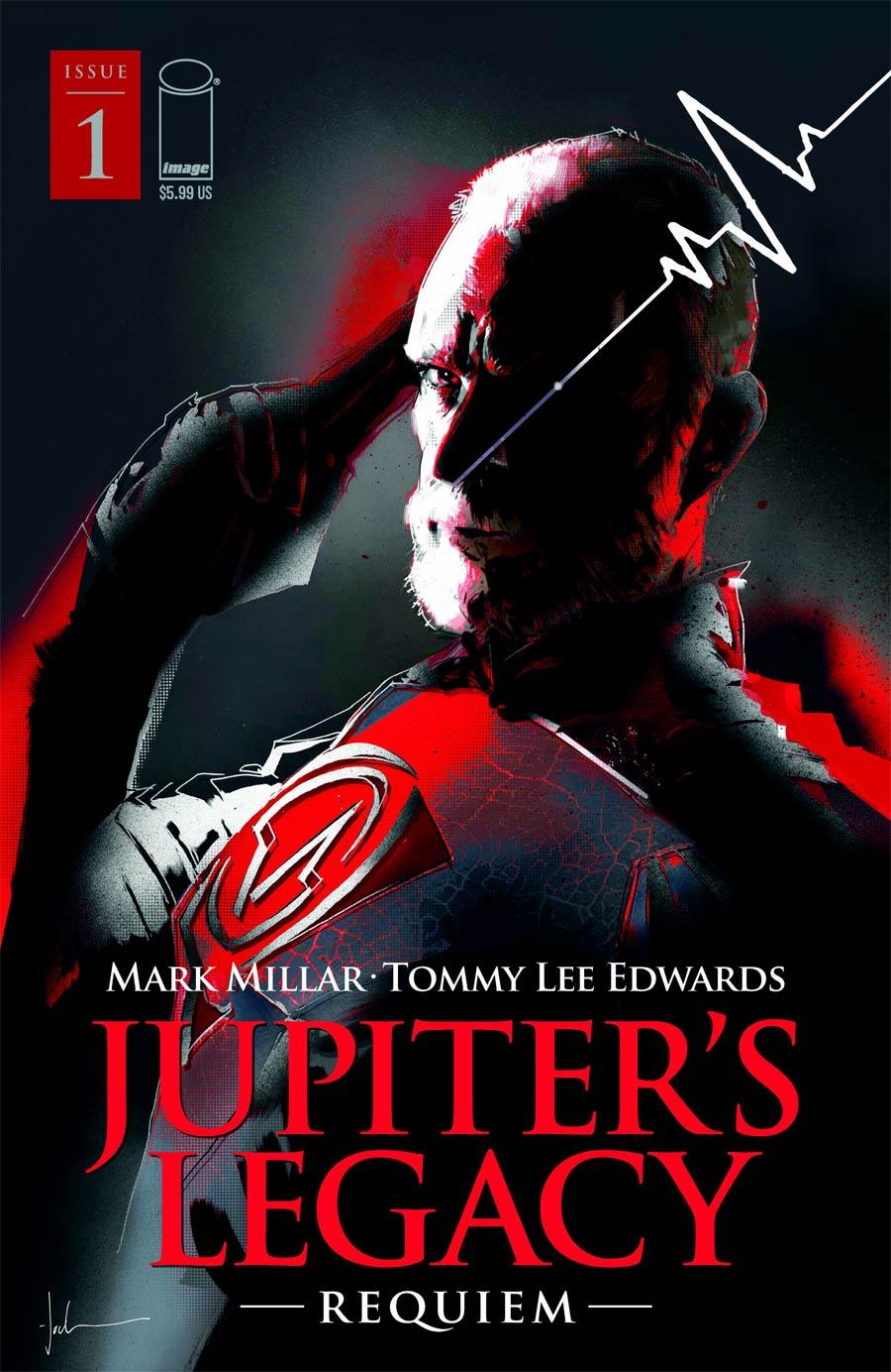 Jupiters Legacy Requiem #1 Cover D Variant Jock Cover