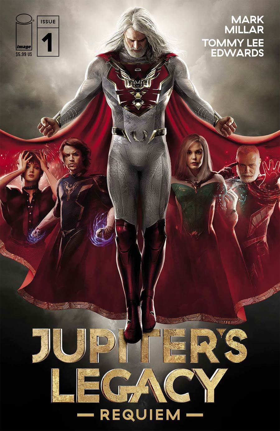 Jupiters Legacy Requiem #1 Cover E Variant BossLogic Netflix Jupiters Legacy Season 1 Cover