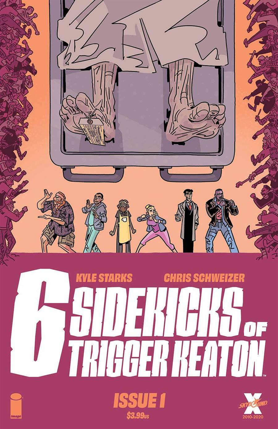 Six Sidekicks Of Trigger Keaton #1 Cover A Regular Chris Schweizer Cover
