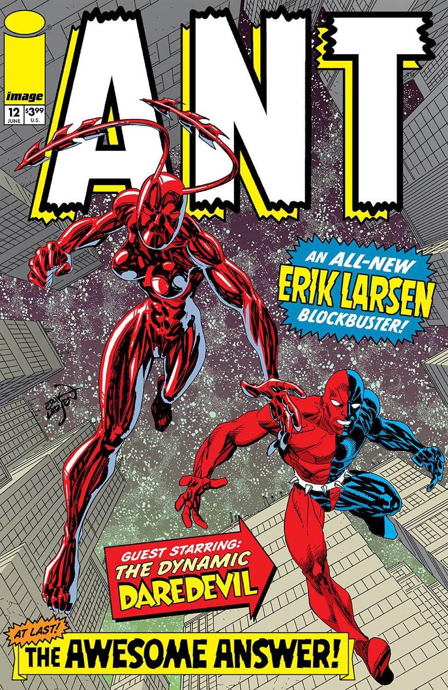 Ant Vol 2 #12 Cover A Regular Erik Larsen Cover