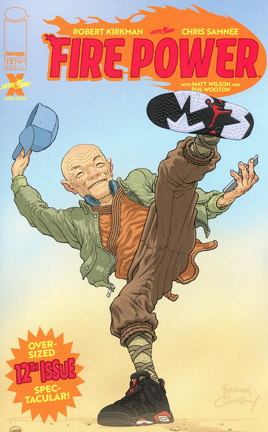 Fire Power By Kirkman & Samnee #12 Cover B Variant Frank Quitely Cover