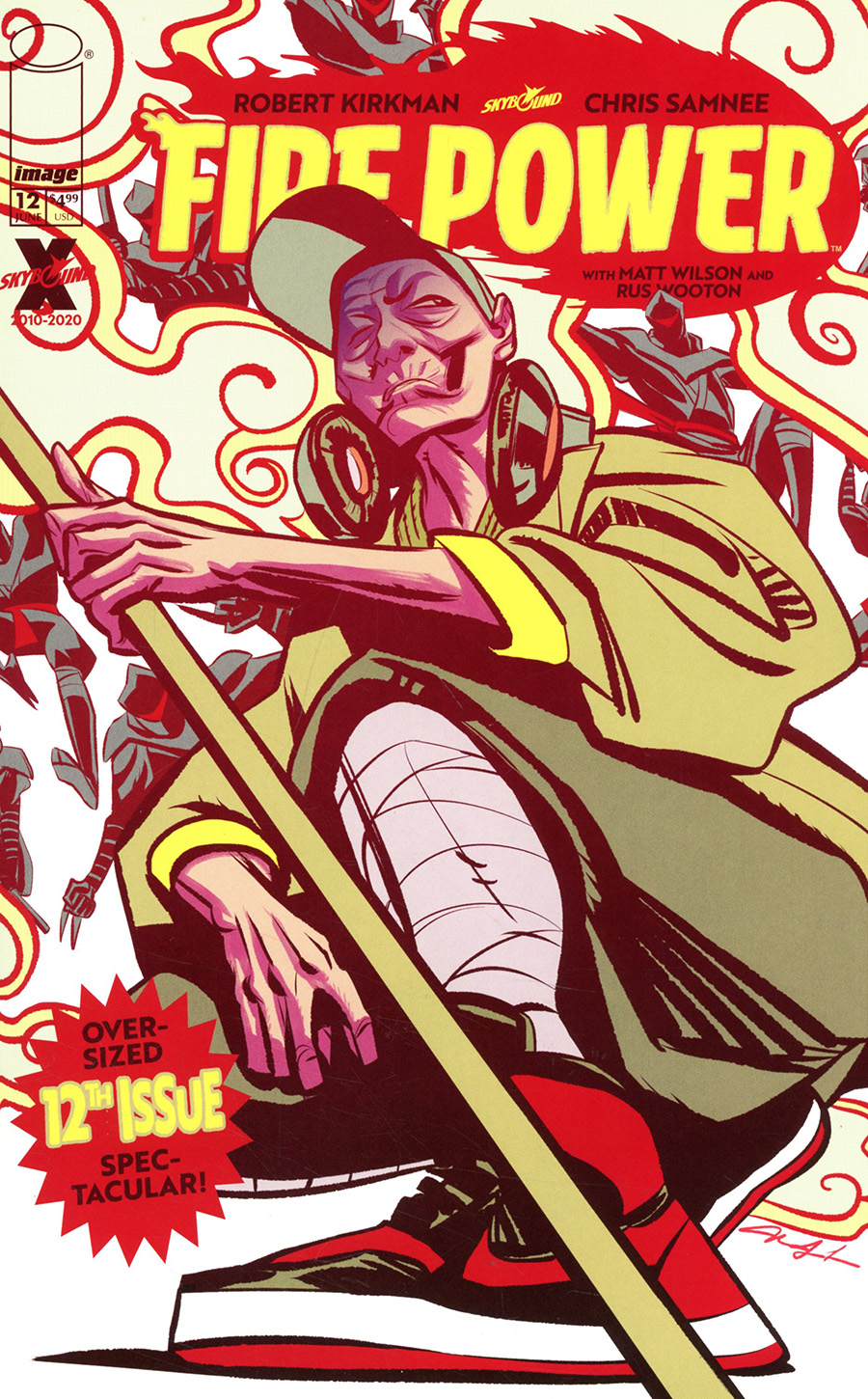 Fire Power By Kirkman & Samnee #12 Cover C Variant Mindy Lee Cover